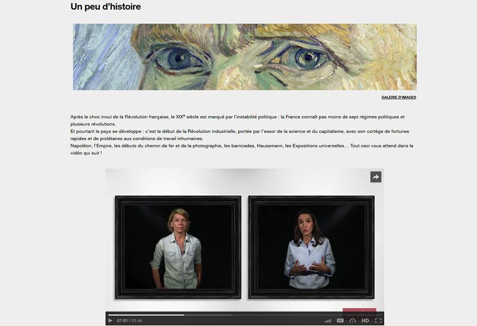 Illustration 1 MOOC histoire de l'Art