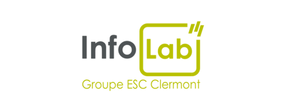 Logo infolab esc Clermont
